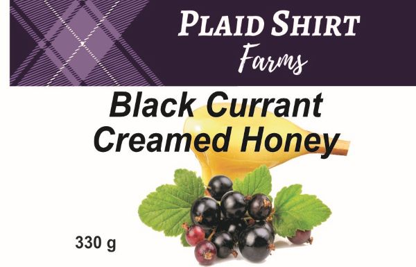 Black Currant Creamed Honey