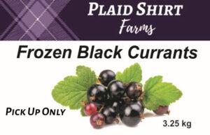 Frozen black currants