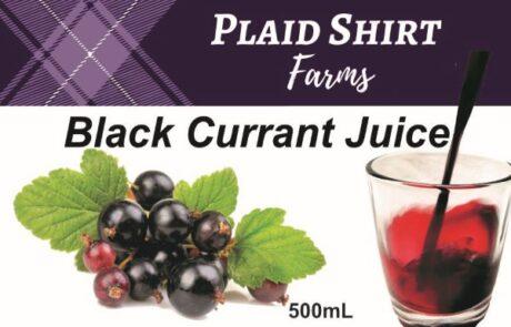 Label_black currant juice panel