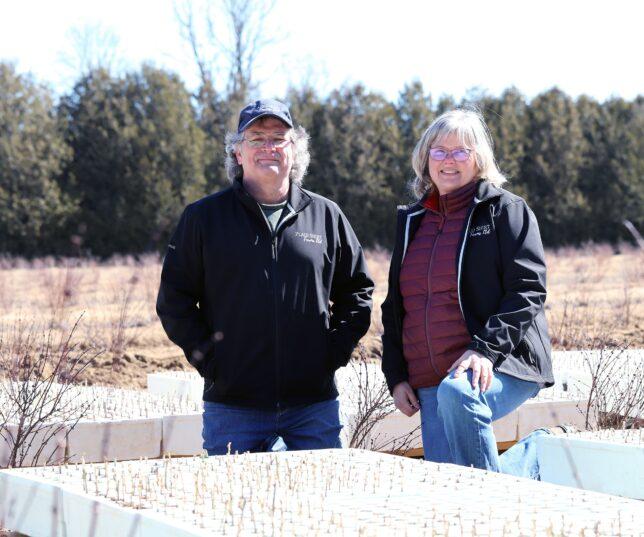 Warren Strong and Patricia van Diepen